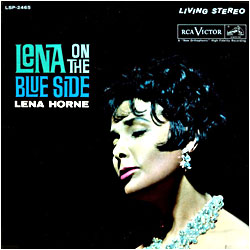 Cover image of Lena On The Blue Side