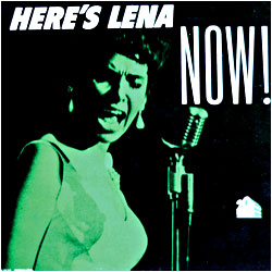 Cover image of Here's Lena Now
