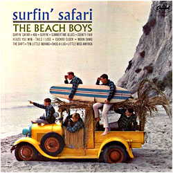 Cover image of Surfin' Safari