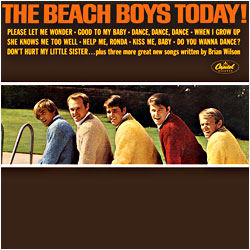 Cover image of The Beach Boys Today