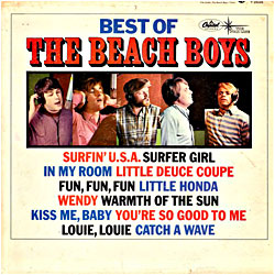 Cover image of Best Of The Beach Boys