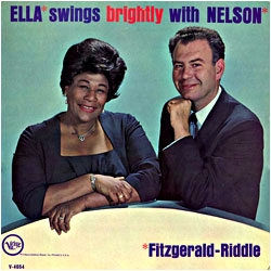 Cover image of Ella Swings Brightly With Nelson