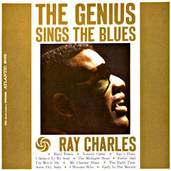 Cover image of The Genius Sings The Blues