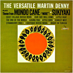 Cover image of The Versatile Martin Denny