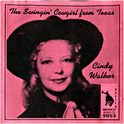 The Swingin' Cowgirl From Texas - image of cover