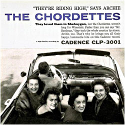 Cover image of The Chordettes