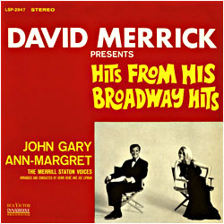 Cover image of David Merrick Presents Hits From His Broadway Hits