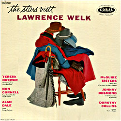Cover image of The Stars Visit Lawrence Welk