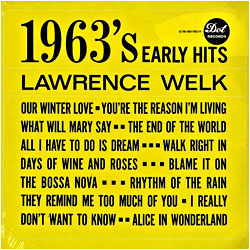 Cover image of 1963's Early Hits