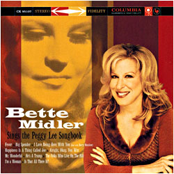 Cover image of The Peggy Lee Songbook